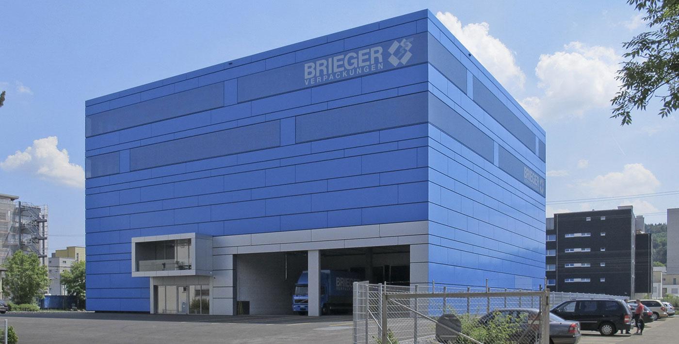 Brieger Verpackungen Fassade Eleconstruct